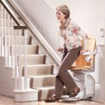 woman-getting-off-a-stair-lift